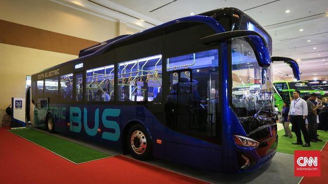 Menperin Dukung Bus Listrik Moeldoko Jadi Transportasi Umum