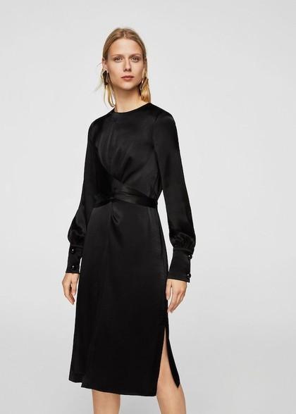 Simpel dan Elegan, 7 Dress Hitam Ini Cocok Dipakai Kondangan 1