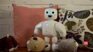 VIDEO: piBo Robot Mini yang Bisa Kenali Orang Berbeda