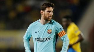 Pesawat Dilarang Terbang di Atas Rumah Lionel Messi