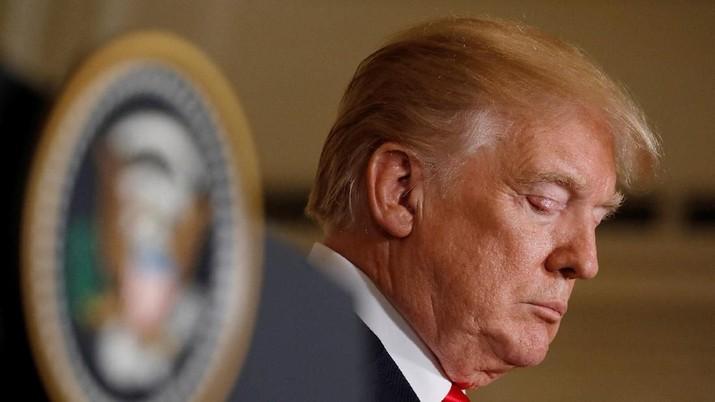 Presiden AS Donald Trump mengatakan langkah-langkah yang diambil bank sentral Federal Reserve telah mengganggu pertumbuhan ekonomi