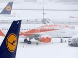 Sempat Ditutup Akibat Badai Salju, Bandara Jenewa Dibuka Lagi