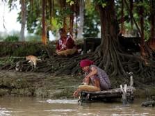 Jepang Ikut Gotong-royong Bersihkan Sungai Citarum