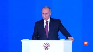 VIDEO: Putin Pamerkan Video Senjata Nuklir Terbaru Rusia