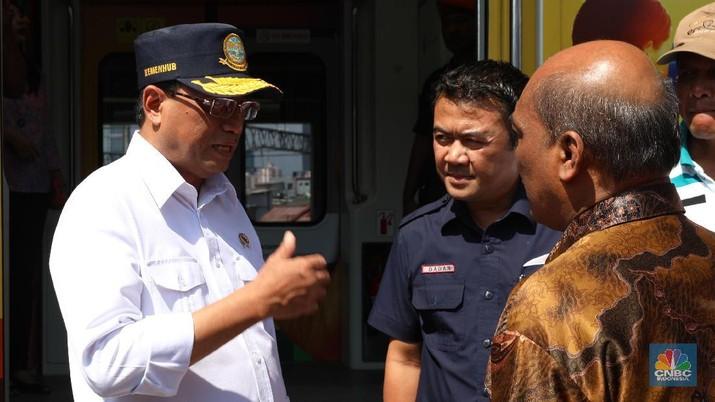 Menteri Perhubungan Budi Karya Sumadi menghadiri Rapat Koordinasi Kesiapan Angkutan Lebaran Tahun 2019M/1440H.