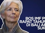 VIDEO: Bos IMF Pede Rapat Tahunan di Bali Akan Sukses