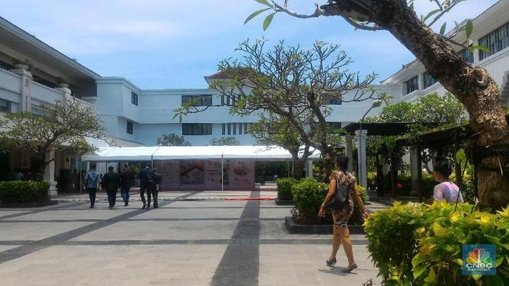 28 Menteri akan mengecek kesiapan pertemuan tahunan IMF - World Bank di Bali.