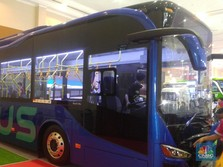 Tak Mau Kalah dengan Nissan, Toyota Boyong Bus Listrik