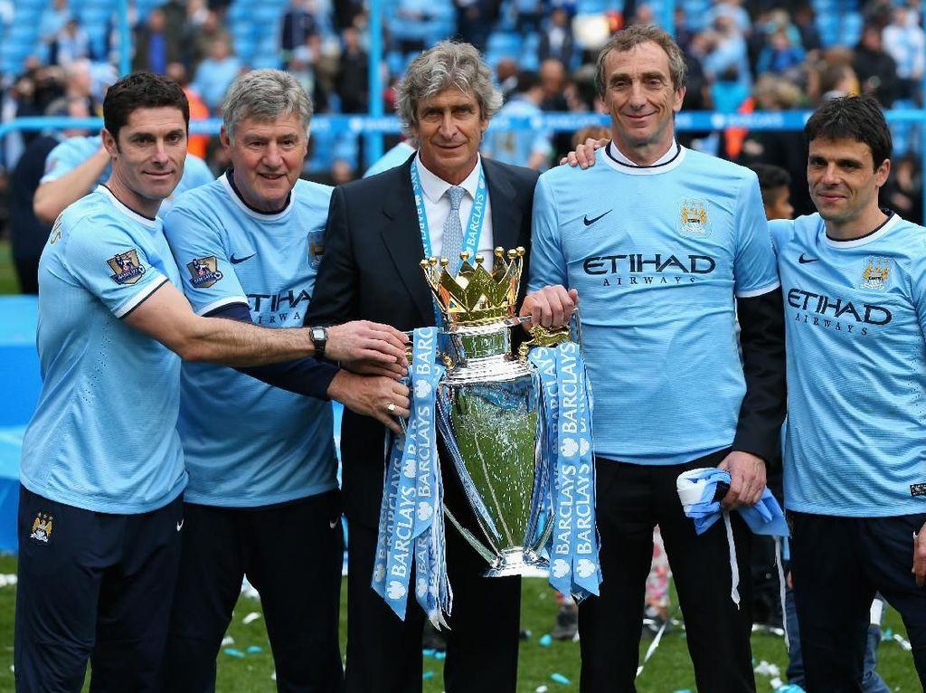 8. Manchester City. Lima titel berhasil dikoleksi City yakni 1936/1937, 1967/1968, 2011/2012, 2013/2014, 2017/2018. Lima kali pula City jadi runner-up. (Foto: Alex Livesey/Getty Images)