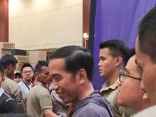 Jokowi Blusukan ke Jakarta Sneaker Day 2018