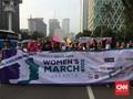 Women's March di Jakarta Suarakan 8 Tuntutan