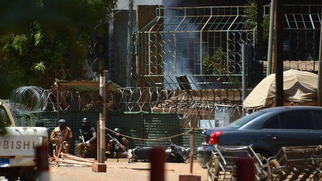 Kedubes Perancis dan Markas Militer di Burkina Faso Diserang