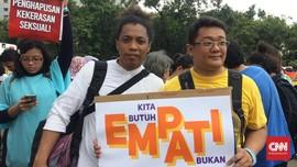 Komedian Arie Kriting Kritik Sikap Pemerintah soal Papua
