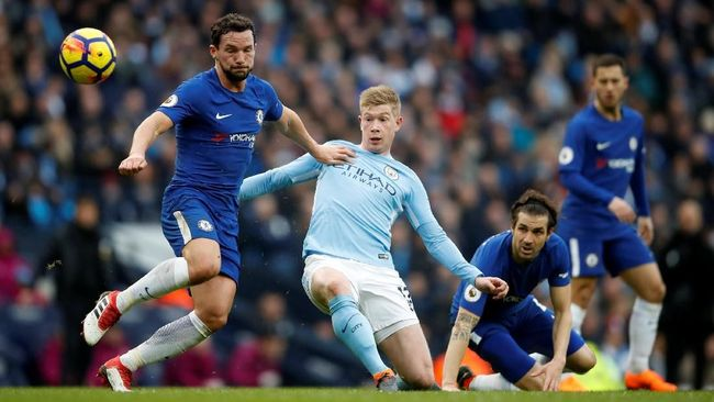 Prediksi Chelsea vs Manchester City di Community Shield 2018