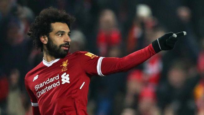 Mohamed Salah Lewati Rekor Samuel Eto'o di Liga Champions