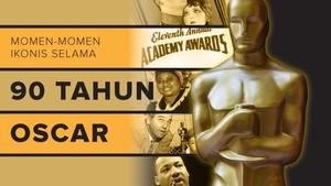 Momen-momen Ikonis selama 90 Tahun Oscar