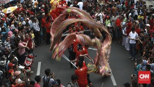 FOTO: Kemeriahan Karnaval Cap Go Meh Jakarta