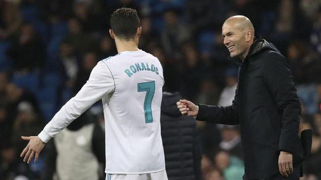 Del Piero: Ronaldo Lebih Penting dari Zidane di Real Madrid