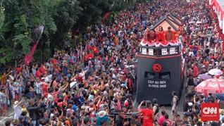 Warna-Warni Budaya Indonesia di Karnaval Cap Go Meh 2018