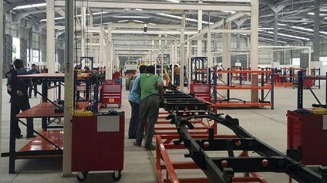 Intip 'Daleman' Pabrik Esemka di Boyolali