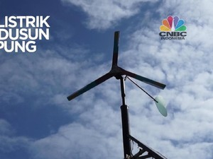 VIDEO: Kincir Listrik untuk Dusun di Kampung Laut
