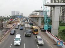 Proyek Konstruksi di Jalan Disetop H-10 hingga H+10 Lebaran
