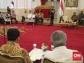 Tiga Pentolan Elek Yo Band Curi Perhatian di Sidang Kabinet