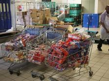 Tanggap Corona & Puasa: RI Impor Masker, Daging, Bawang Putih