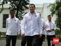 Hary Tanoe Tak Bahas Pilpres dengan Jokowi di Istana