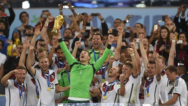 Virzha Dukung Timnas Jerman di Piala Dunia 2018