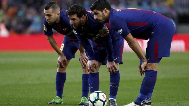 5 Rekan Lionel Messi yang Sangat Klop di Barcelona