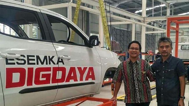 Ma'ruf Amin Tegaskan Mobil Esemka Urusan Swasta