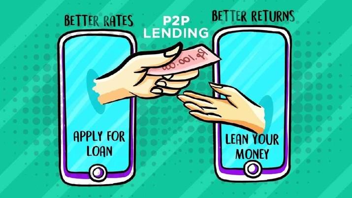 Naik 250%, Pinjaman Lewat Fintech Tembus Rp 9 T hingga Juli