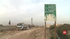 VIDEO: Suriah Rebut Kembali Sejumlah Wilayah di Ghouta Timur