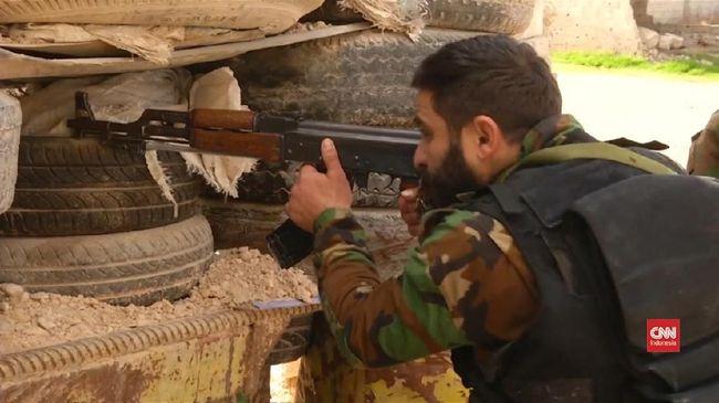 ISIS Serang Koalisi AS di Timur Suriah, Sandera 35 Pasukan