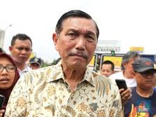 Di Depan DPR, Luhut Jawab Nyinyiran Soal Menteri 'Palu Gada'