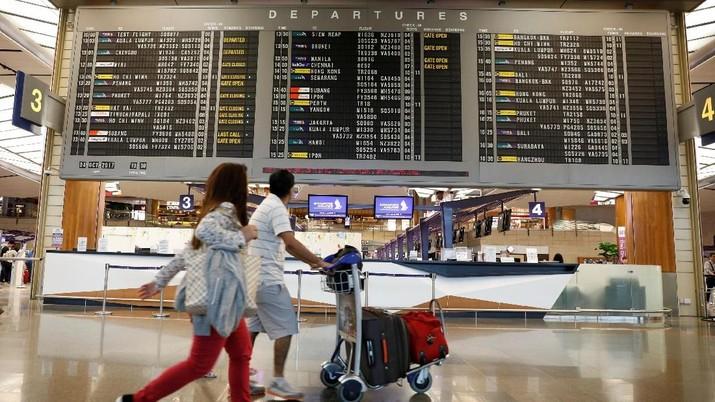 Bandara Changi meraih gelar bandara terbaik 2018 versi Skytrax.