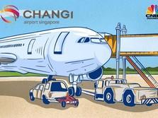 Bandara Changi Mengutip Tarif Lebih Besar, Ini Komponennya