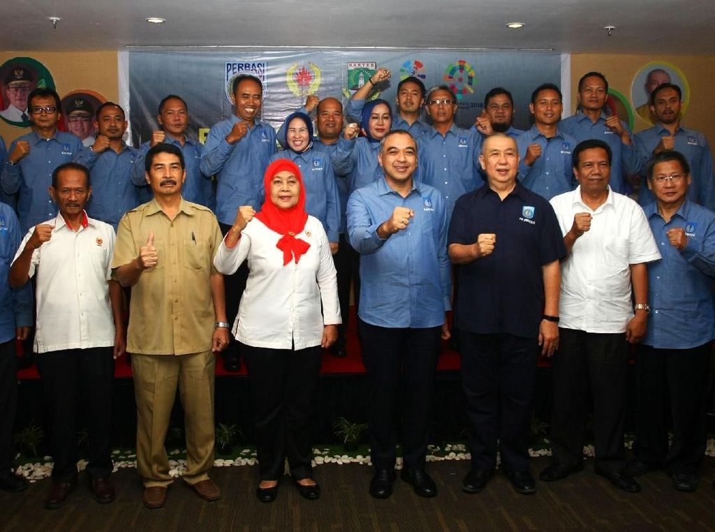 Pelantikan pengurus Perbasi Banten digelar di Serpong, Kabupaten Tangerang, Banten, Selasa (6/3/2018). Istimewa/Perbasi.