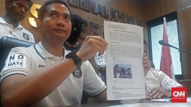 Ditangkap, Penghina Jokowi dan Gubernur Sulsel Mengaku Iseng