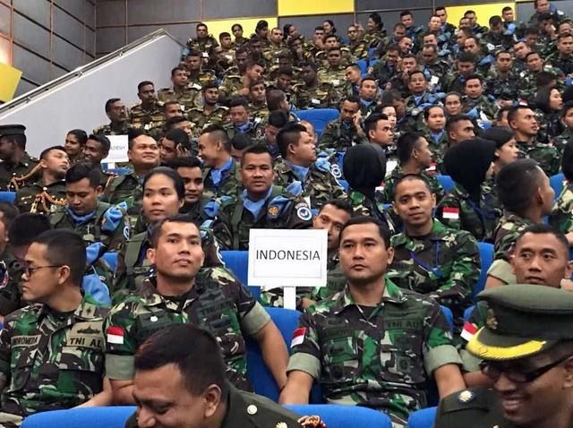 45 Prajurit TNI Ikuti Latihan Bersama di Bangladesh