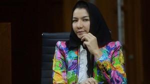 KPK Sita Aset Rita Widyasari Senilai Rp70 Miliar