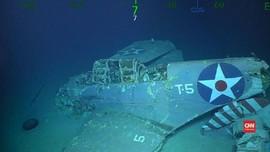 VIDEO: Kapal Induk Lexington Bekas Perang Dunia II Ditemukan