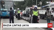 Razia di Jalan Raya