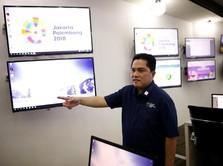 Promosi Asian Games Dikritik Jokowi, Ini Kata Erick Thohir
