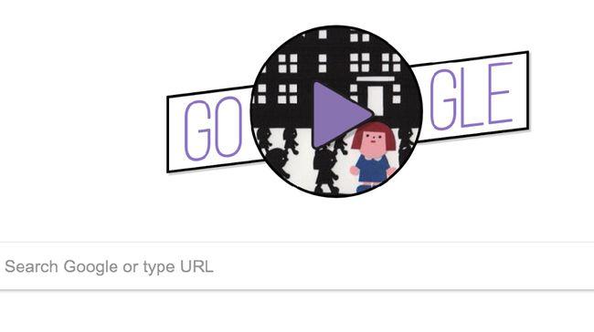 Cara Google Doodle Rayakan Hari Perempuan Internasional