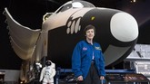 Wendy Lawrence (58) adalah seorang pensiunan kapten Angkatan Laut Amerika Serikat. Dia juga pernah berprofesi sebagai astronaut NASA. (AFP PHOTO / Jason Redmond)