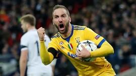 Juventus Resmi Pinjamkan Higuain ke Chelsea