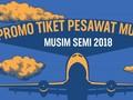 INFOGRAFIS: Promo Tiket Pesawat Murah Musim Semi 2018