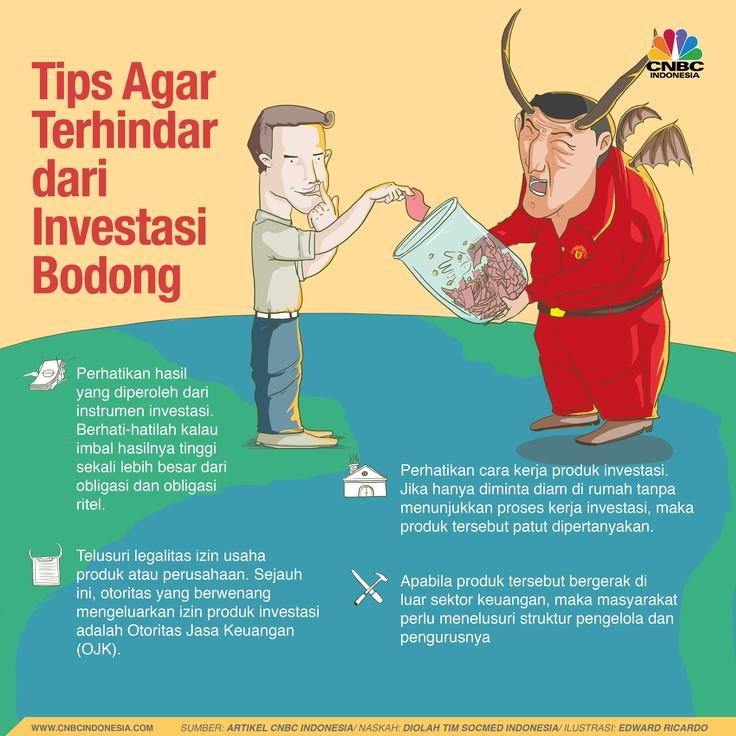Hai Investor, Ini Tips Agar Tak Tertipu Investasi Bodong